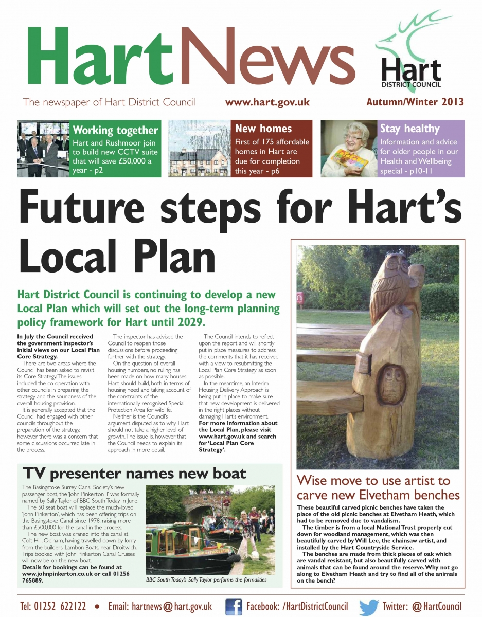 Hart News Autumn Winter 2013