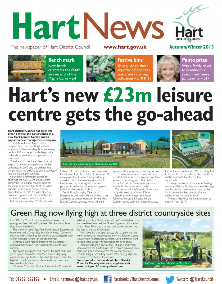 Hart News Autumn Winter 2015