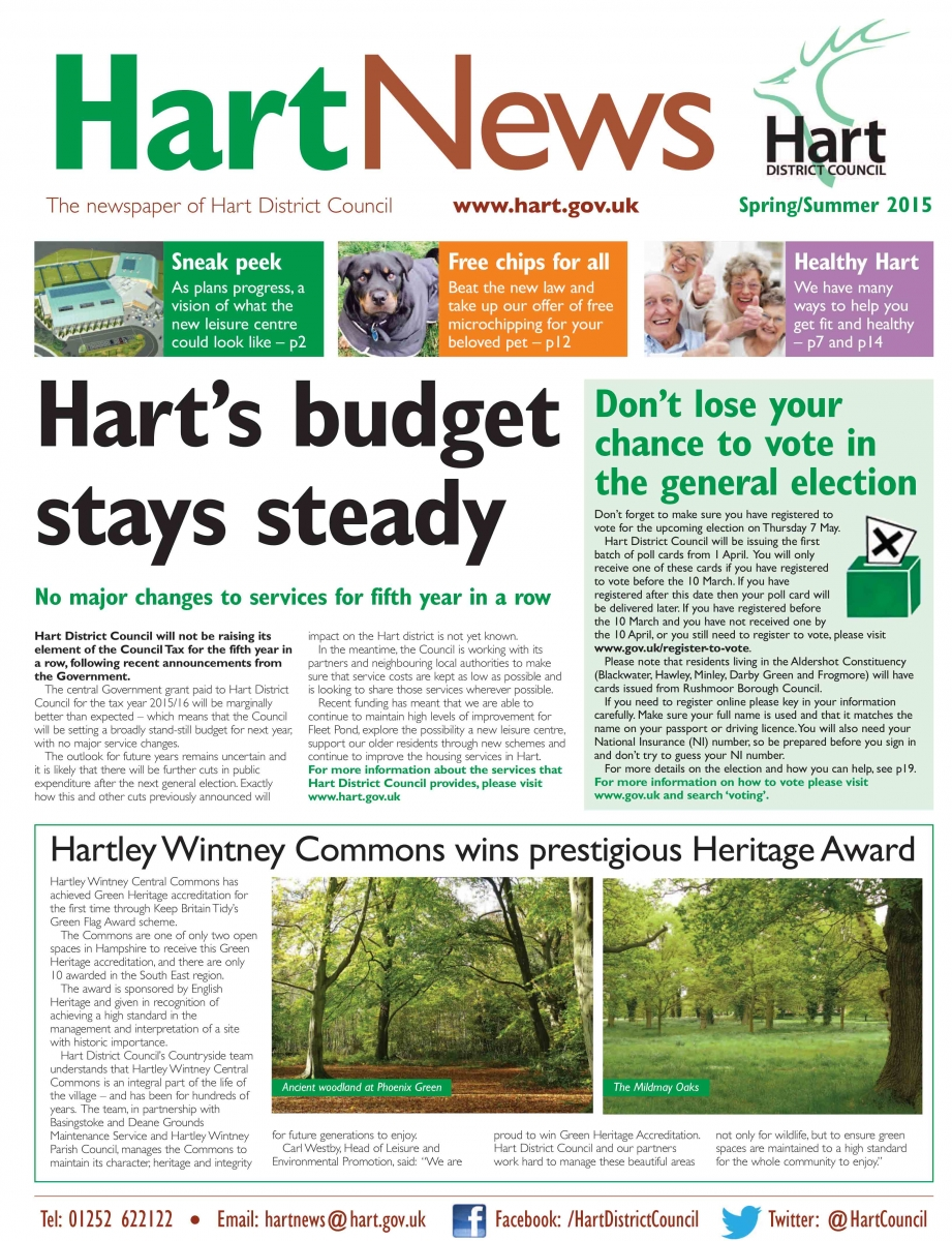Hart News Spring Summer 2015
