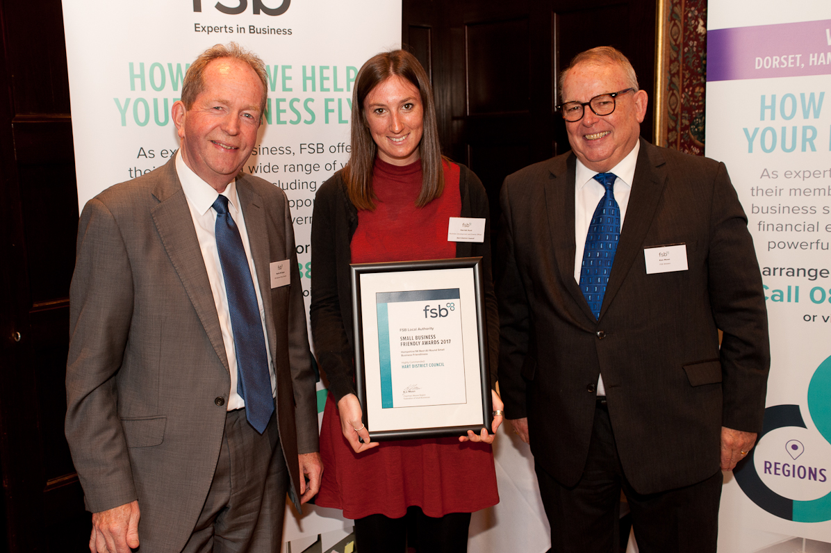 Hart highly commended for business support   Hart District