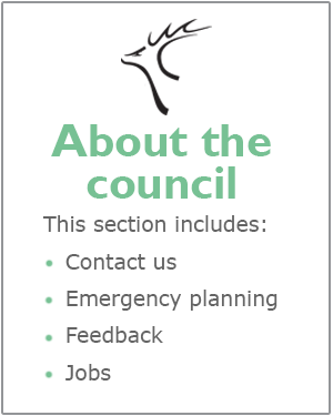 About the council webpages