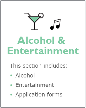Alcohol and entertainment