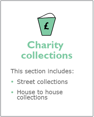Charity collections
