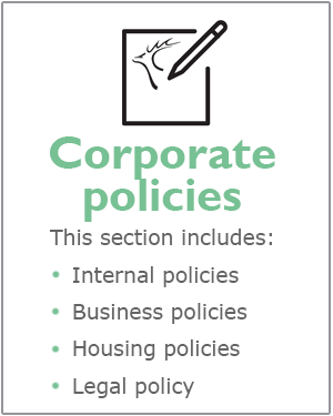 Hart District Council corporate policies