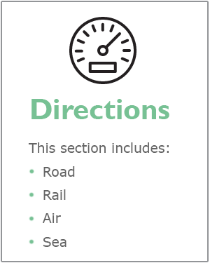 Directions webpage