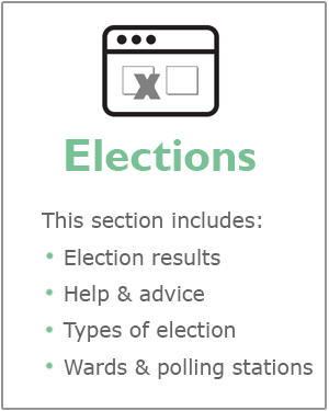 Elections webpages