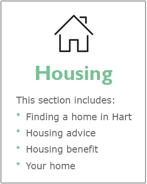 Housing webpages