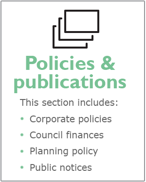 Policies and publications webpages
