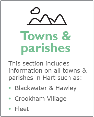Towns and parishes webpages