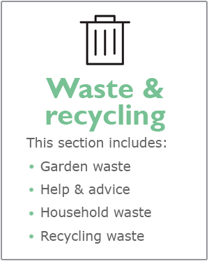 Waste and recycling webpages